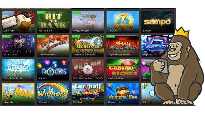 Casinoluck raaputusarpoja