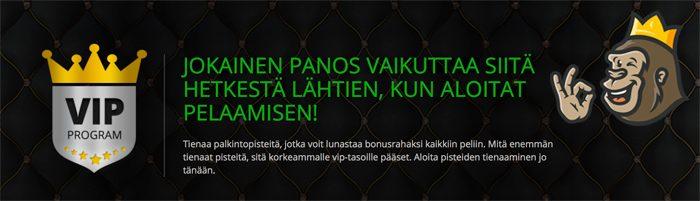 Casinoluck VIP-ohjelma