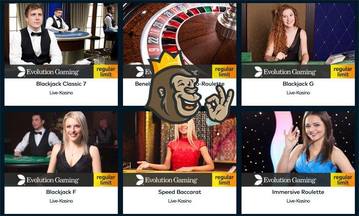 Fun Casinon livepelivalikoimaa