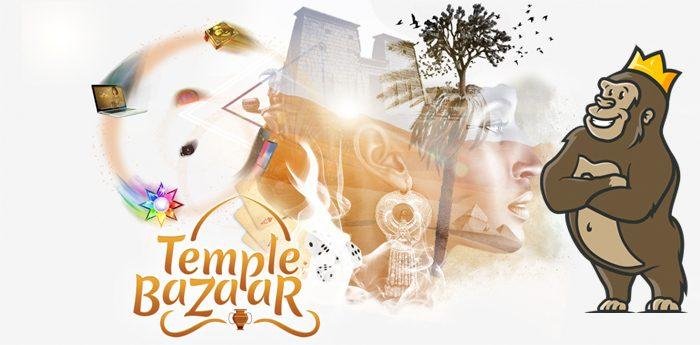 Kampanjat ja basaari Temple Nile -kasinolla
