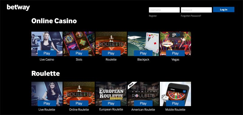 Live Casino Game Options