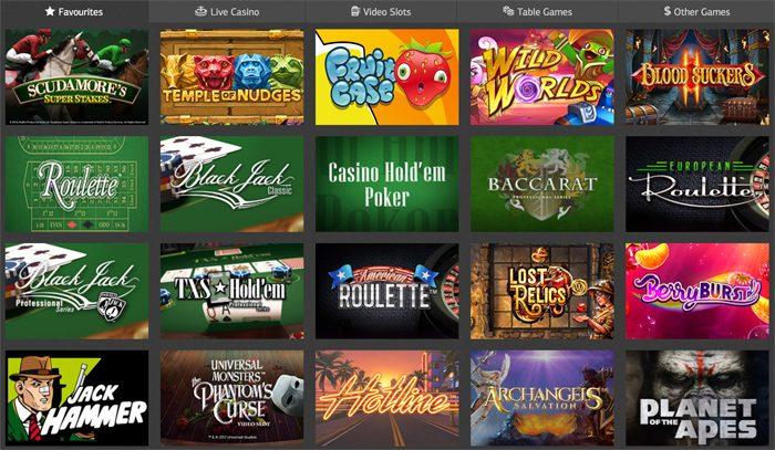 Lsbet casinon pelivalikoimaa