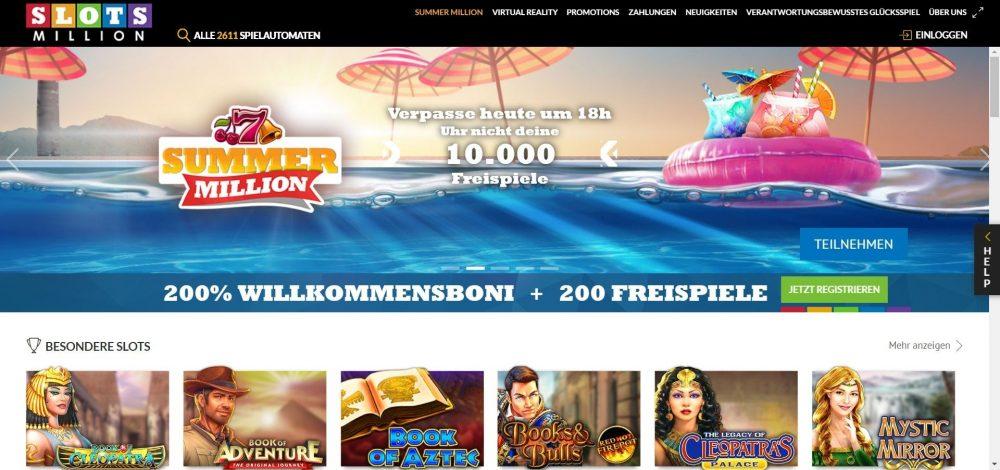 slotsmillion casino freispiele