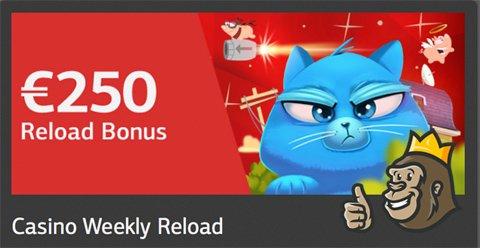 Viikoittainen reload-bonus