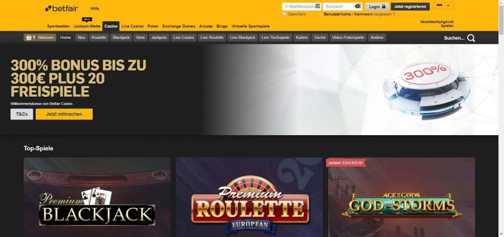 betfair casino einzahlungsbonus