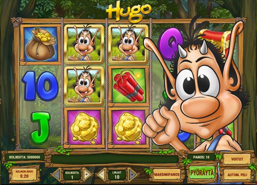 Hugo-kolikkopelin pelattavuus