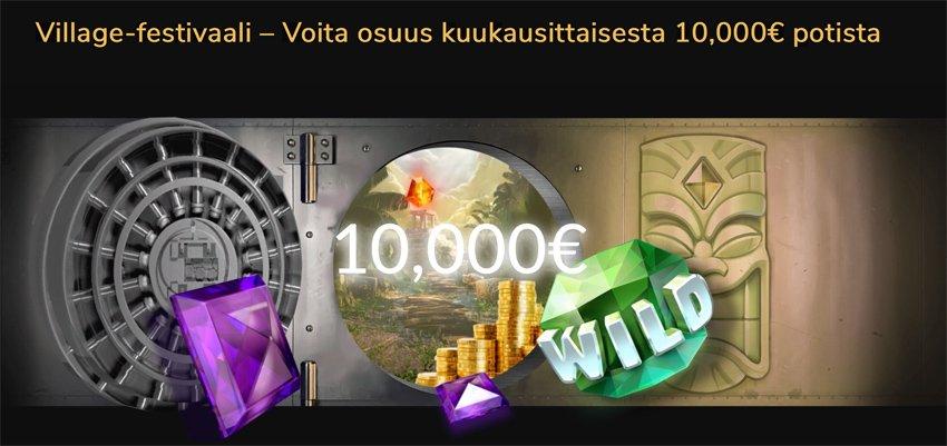 Jackpot Village kampanjat