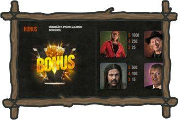 Kummeli kolikkopeli bonussymboli