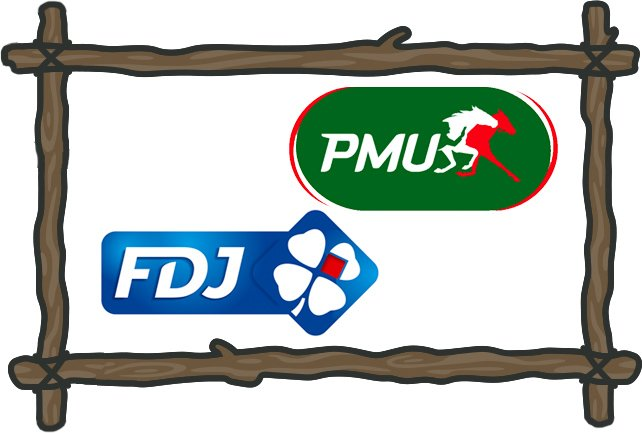 PMU and FDJ gambling in france