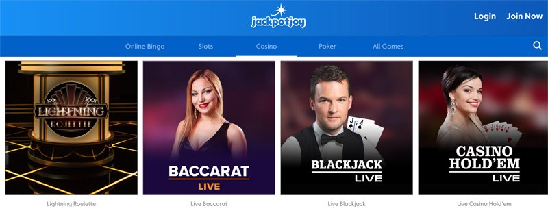 Examples of Live Casino Games