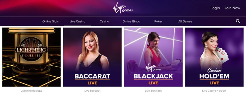 Some of the Live Casino Games