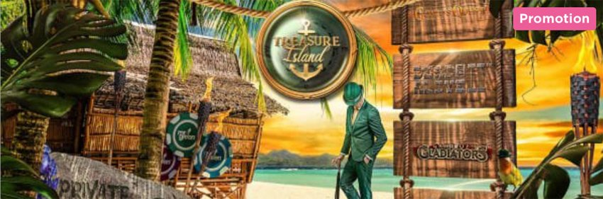 Mr Green Treasure Island campaign July 2019
