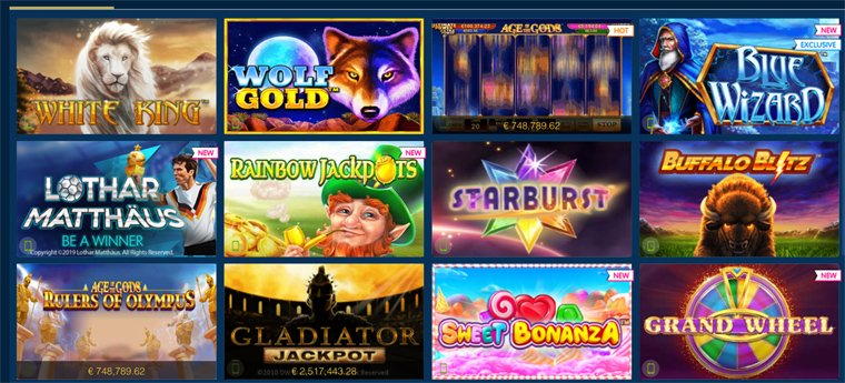Beliebte spiele im Online Casino