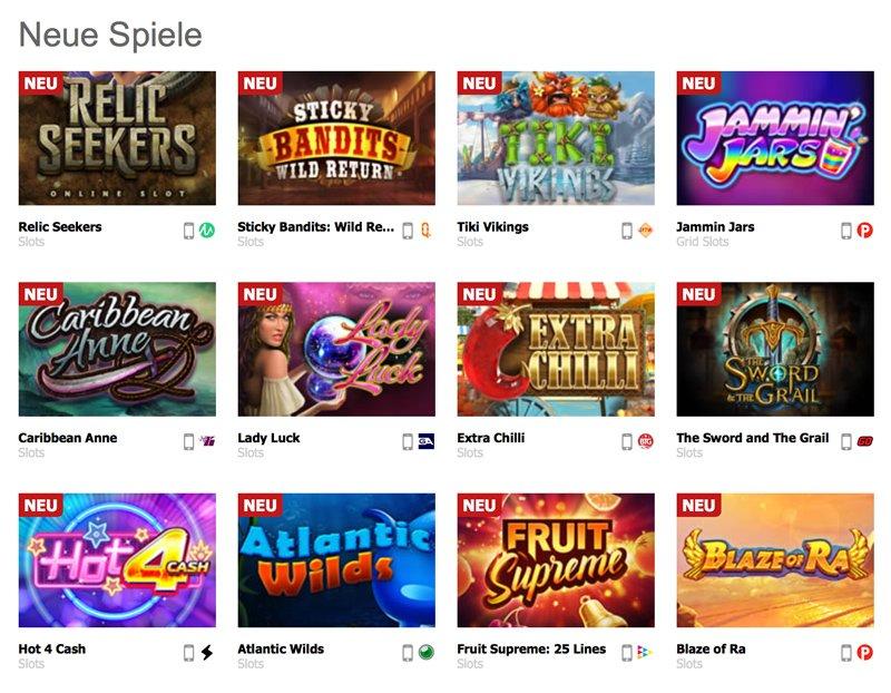 Interwetten Neue Casino Spiele
