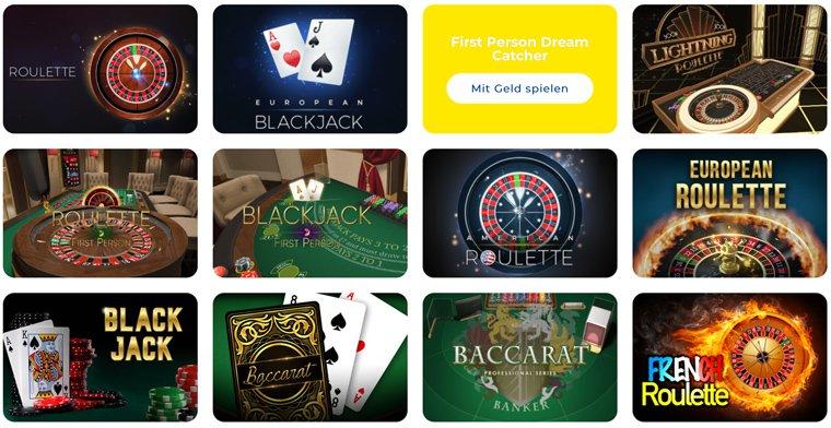 Pelaa Casino Tischspiele