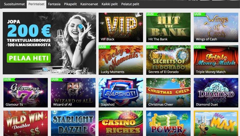Play Club Casinon raaputusarvat