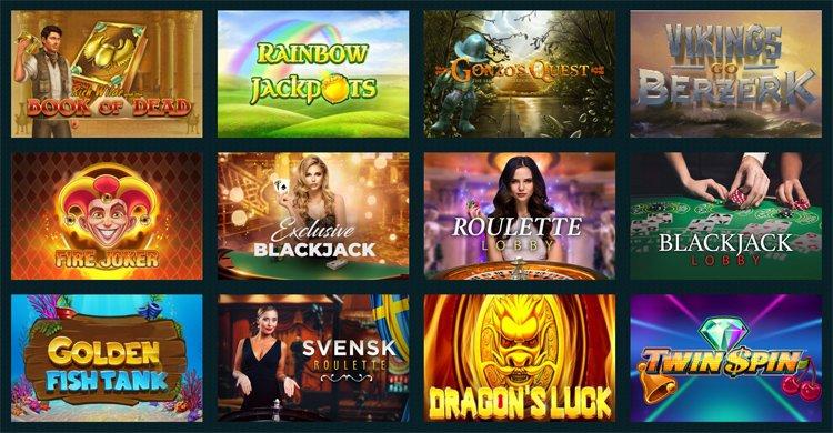 Beliebte casino spiele im Spela Casino