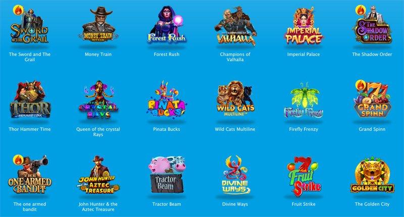Beispiele für Spielautomaten