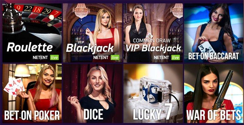 Lotto Spiel mit Live Ziehung und andere Live Spiele