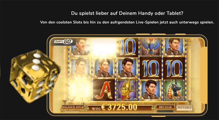 In einem mobilen Casino spielen