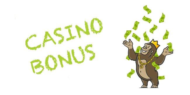 Online Casino Bonus mit und ohne Einzahlung