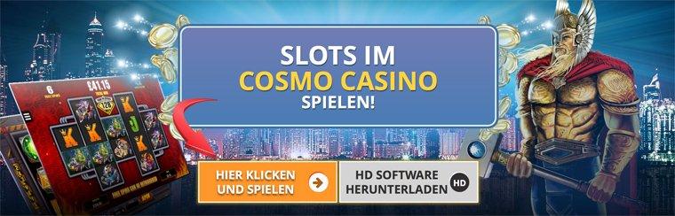 Slots im Cosmo Casino