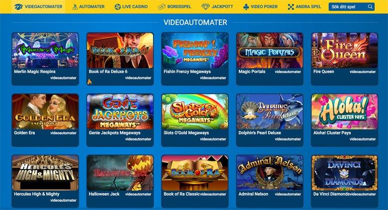 Videoautomater och andra spel
