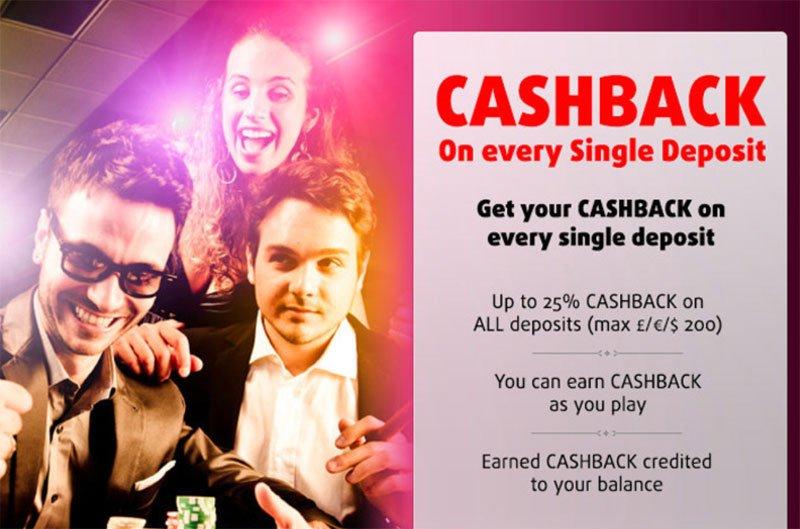Cashback Programm