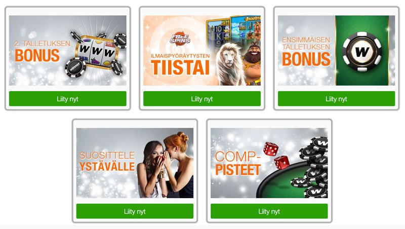 Winner Casinon kampanjoita