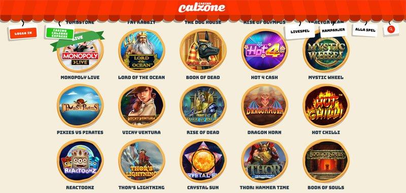 några exempel på casino spel