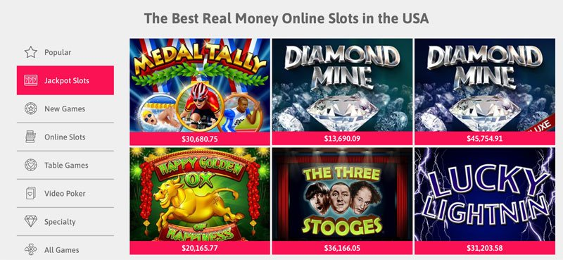 Real Money Online Slots