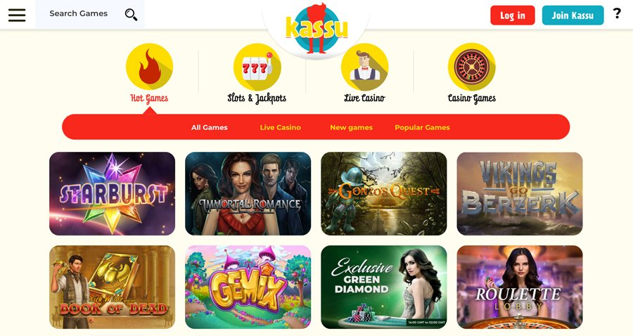 Casino Game Selection