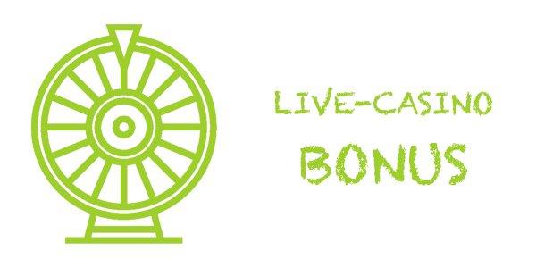 Live-Casino bonukset