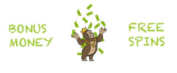 Bonus Money and Free Spins