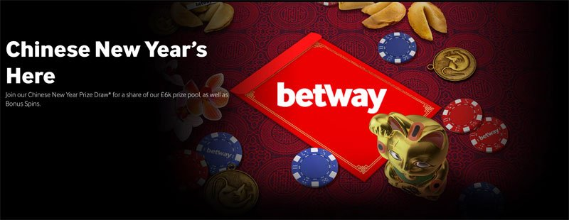 Betway Chinese New Year draw Promotion
