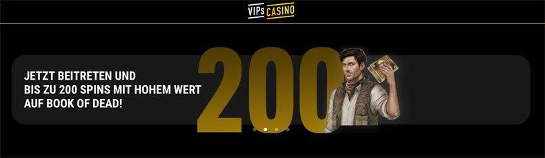 VIPs Casino bonus februar 2020