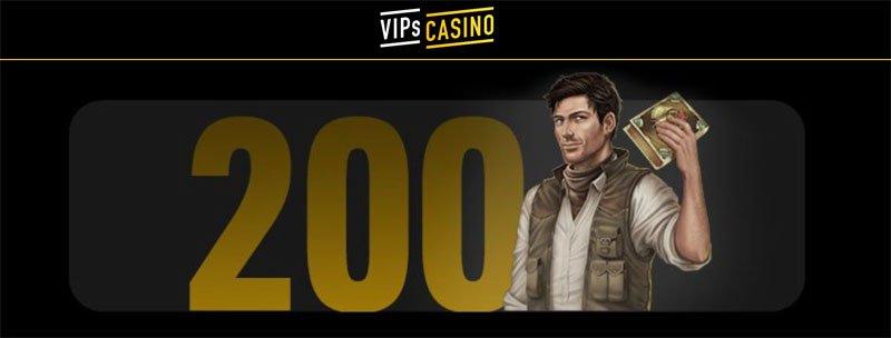 VIPs Casino tarjoukset